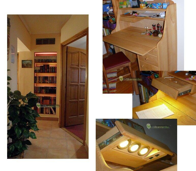 Találékony megoldások LED szalaggal és LED G4 fényforrásokkal