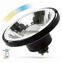 Spectrum Smart AR111-ES111 10W 30° szabályozható, CCT, wifis okos fekete GU10 LED szpot
