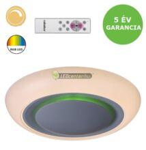 CALVIN 18W RGB, CCT, távirányítós, dimmelhető, távirányítós mennyezeti LED lámpa 5évG