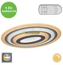 TANELI LED 41W változtatható színhőmérsékletű távirányítós LED mennyezeti lámpa 5évG