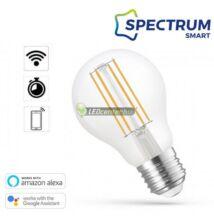 Spectrum Smart 5W szabályozható, CCT, wifis okos E27 izzóhatású LED körte