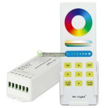 MiLight RGB+CCT RF vezérlőegység fehér érintős, fali tartóval 180 W, FUT045A