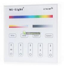 MiLight B4 RGB+CCT fali vezérlő /távirányító/ RF 230V