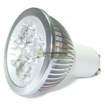 SOLIS 5W=40W GU10 330 lumen dim. hidegf. LED szpot 3évGar