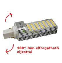 ABYDOS-3 7W=75W G24 630 lumen melegfehér LED égő 3évGar