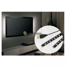 USB tv háttérvilágítás, 5V, 7,2W, 2x50cm, természetes fehér