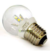 GLORIA-5 3,5W=25W 250 lumen E27 LED kisgömb hidegfehér 3évGar