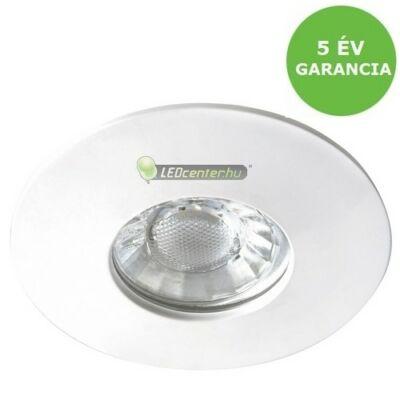 RANDY 4W IP44 kerek fehér LED fürdőszobai/mennyezeti lámpa melegfehér 5évGar