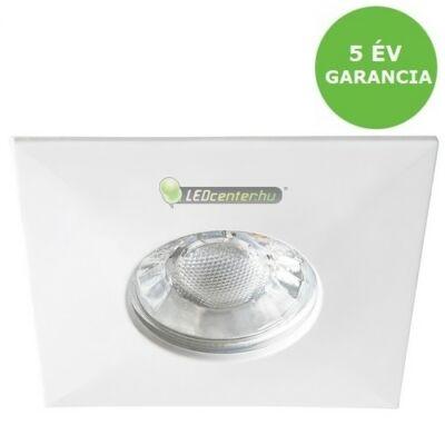RANDY 4W IP44 négyzet fehér LED fürdőszobai/mennyezeti lámpa melegfehér 5évGar