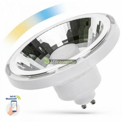 Spectrum Smart AR111-ES111 10W 30° szabályozható, CCT, wifis okos fehér GU10 LED szpot