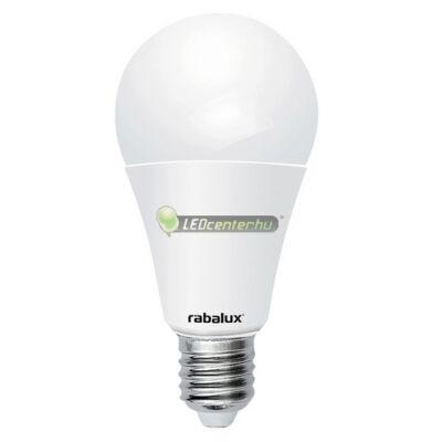 Rábalux alkonykapcsolós 10W=60W LED E27 izzó, melegfehér 3évG
