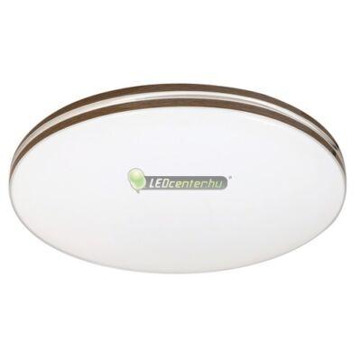 OSCAR LED 18W fehér/dió kerek mennyezeti lámpa, természetes fehér 5évG