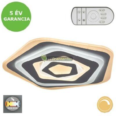 TANELI LED 54W változtatható színhőmérsékletű távirányítós LED mennyezeti lámpa 5évG