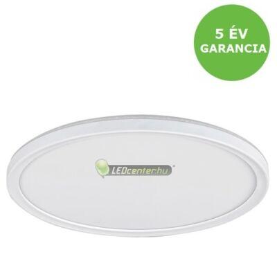 PAVEL LED 18W kerek fehér mennyezeti lámpa backlight effekttel, természetes fehér 5évGar