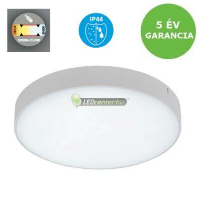 TARTU IP44 LED 18W kültéri mennyezeti lámpa, választható színhőmérséklet 5évG