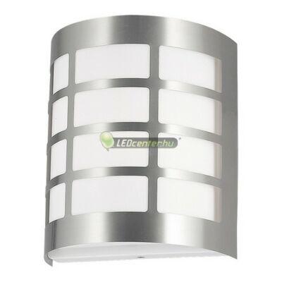 SEVILLA inox kültéri fali lámpa 1xE27, IP44