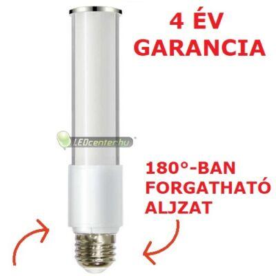 ABYDOS-2 LED égő 8W=80W E27 800 lumen természetes fehér, forgatható aljzat, 4évG