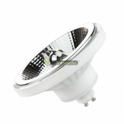 LED AR111/ES111 GU10 230V 12W 20° természetes fehér szpot, fehér
