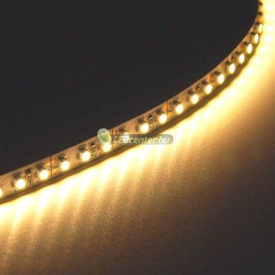 CLARO+ 120 SMD2835 DC24V 24W/m beltéri LED szalag, melegfehér 2évG