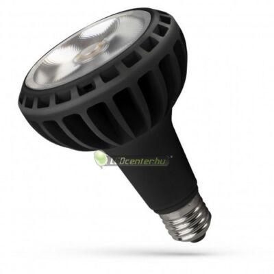 Spectrum PAR 20W 2000 lumen E27 LED fekete reflektorizzó, hidegfehér