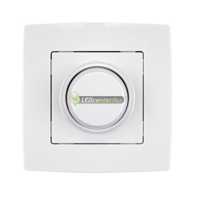 ELMARK 230V LED fali dimmer, fényerőszabályzó 3-300W, 230V-os LED fényforrásokhoz