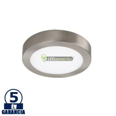 LOIS LED 12W kerek matt ezüst mennyezeti lámpa, melegfehér 5évGar