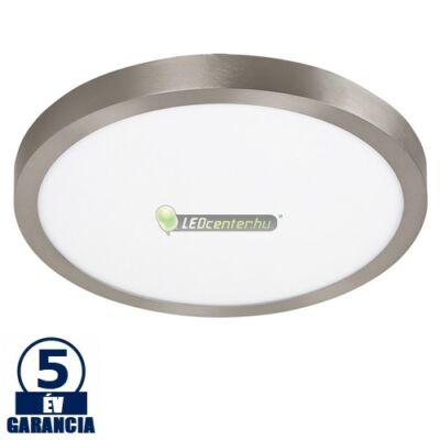 LOIS LED 36W kerek szatén króm mennyezeti lámpa, melegfehér 5évGar