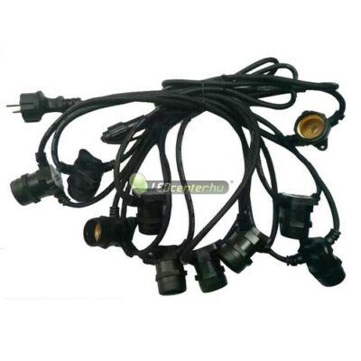 50m 100db E27/230V IP65 party füzér, party kábel