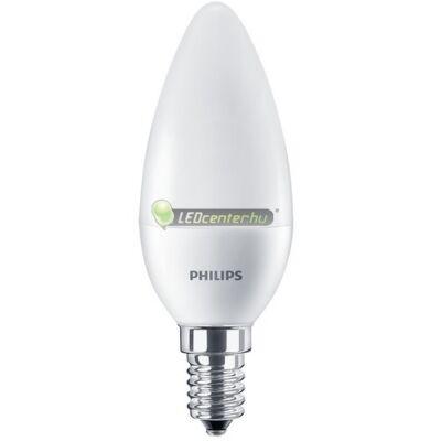 PHILIPS CorePro 5,5W=40W E14 LED FR gyertyaégő, melegfehér