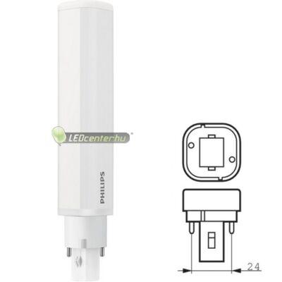 PHILIPS CorePro 8,5W PLC G24 950 lumen melegfehér LED égő 3évGar