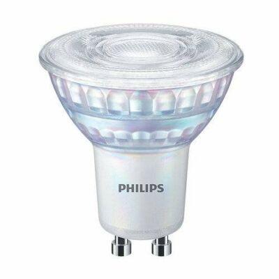 PHILIPS Master GU10 LED 6,2W=80W 650 lumen szpot, fényerőszabályozható, melegfehér