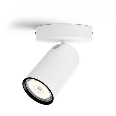Philips PONGEE fehér egyes billenthető lámpatest GU10/230V aljzat