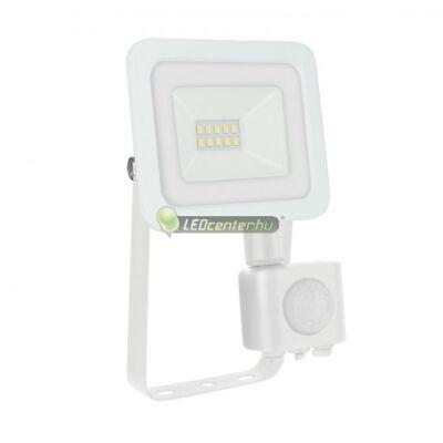 NOCTIS LUX 2 IP44 fehér mozgásérzékelős LED reflektor 10W/230V természetes fehér 2évG