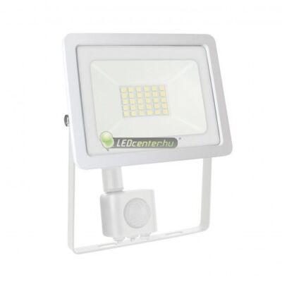 NOCTIS LUX 2 IP44 fehér mozgásérzékelős LED reflektor 20W/230V természetes fehér 2évG