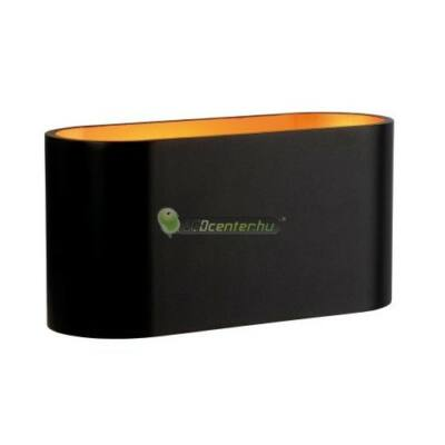 SQUALLA fali lámpatest, fekete-arany, G9/230V