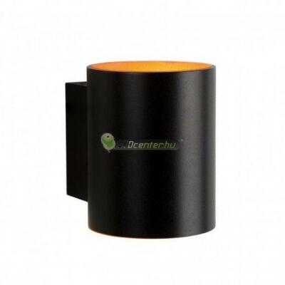 SQUALLA tuba fali lámpatest, fekete-arany, G9/230V