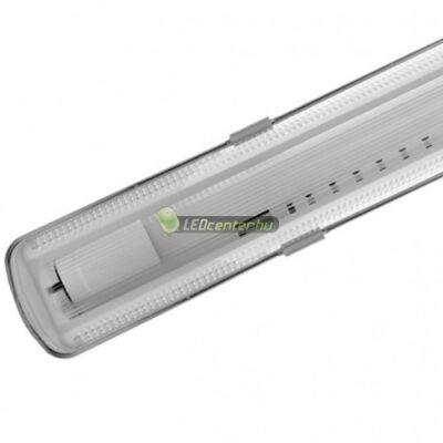 IP65 por-, páramentes szimpla LED fénycső armatúra, 150 cm