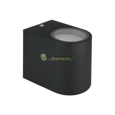 TORRE alumínium fekete kültéri fali lámpa 1xGU10, IP54