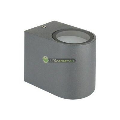 TORRE alumínium szürke kültéri fali lámpa 1xGU10, IP54