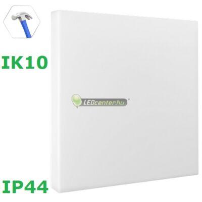 NYMPHEA ECO négyzet 18W IP44 IK10 ütésálló LED lámpa, természetes fehér 2évG