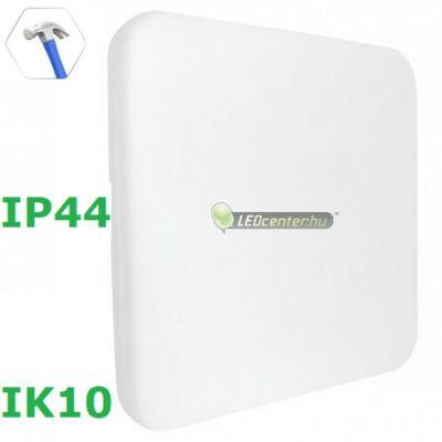 NYMPHEA ECO négyzet 36W IP44 IK10 ütésálló LED lámpa, természetes fehér 2évG