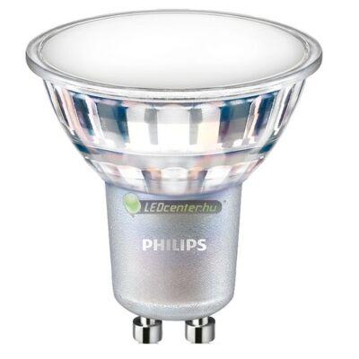 PHILIPS Master GU10 LED 7W=80W 650 lumen szpot, fényerőszabályozható, melegfehér