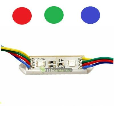 FIESTA LED modul, 2 SMD5050 LED, RGB