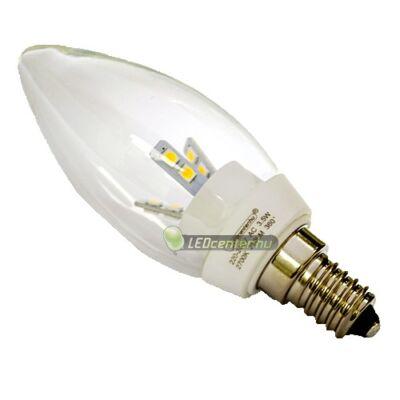 LATUS-2 3,5W=25W E14 250 lumen hidegfehér LED gyertyaégő 3évGar