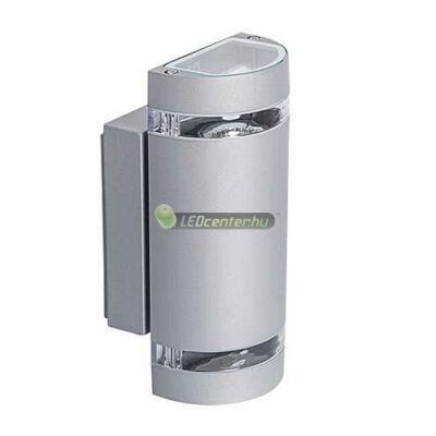 ZEW alumínium kerek kültéri fali lámpa 2xGU10, IP44