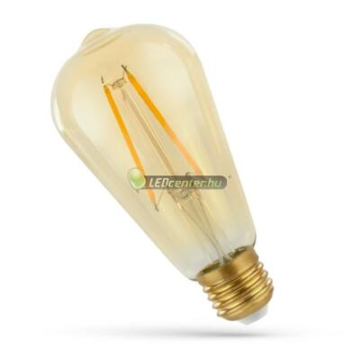 Spectrum RETRO ST64 2W=24W E27 2300K LED körte, extra melegfehér