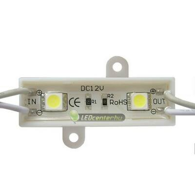 AURORA LED modul, 2 SMD5050 LED, hidegfehér