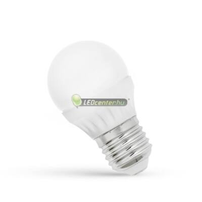 Spectrum 6W=41W E27 480 lumen LED kisgömb, természetes fehér 2évGar