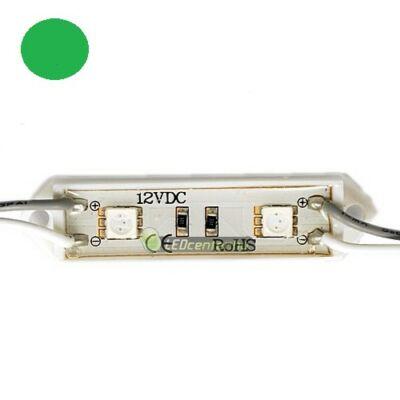 AURORA LED modul, 2 SMD5050 LED, zöld