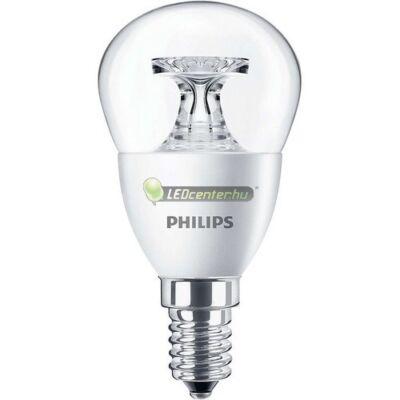 PHILIPS CorePro 5,5W=40W E14 CL 470 lumen melegf. LED kisgömb